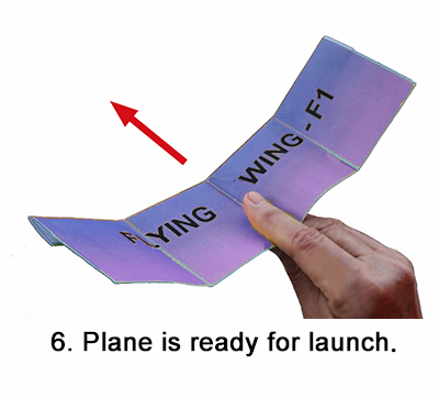 Flying wing step 6